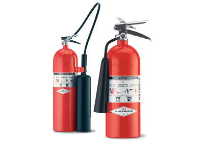 Carbon Dioxide CO2 Fire Extinguishers